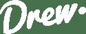 logo drew blanco blanco