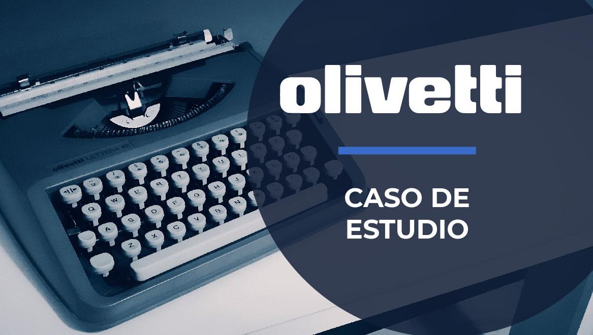 Caso Olivetti: El futuro de las máquinas de escribir