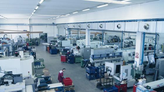 Área de producción. ¿Cuánto produce tu empresa?